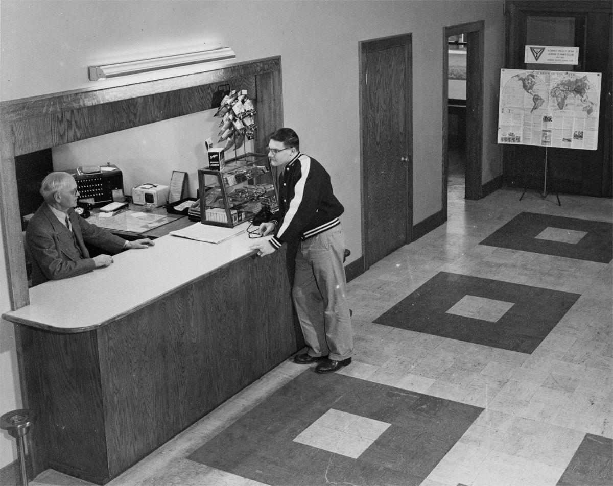 1951: YMCA at Seventh and Main streets