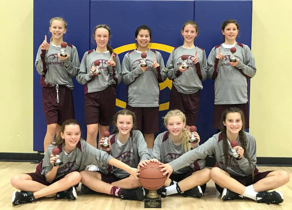 Menomonie Hoops sixth grade team become NW League Champs | Local ...