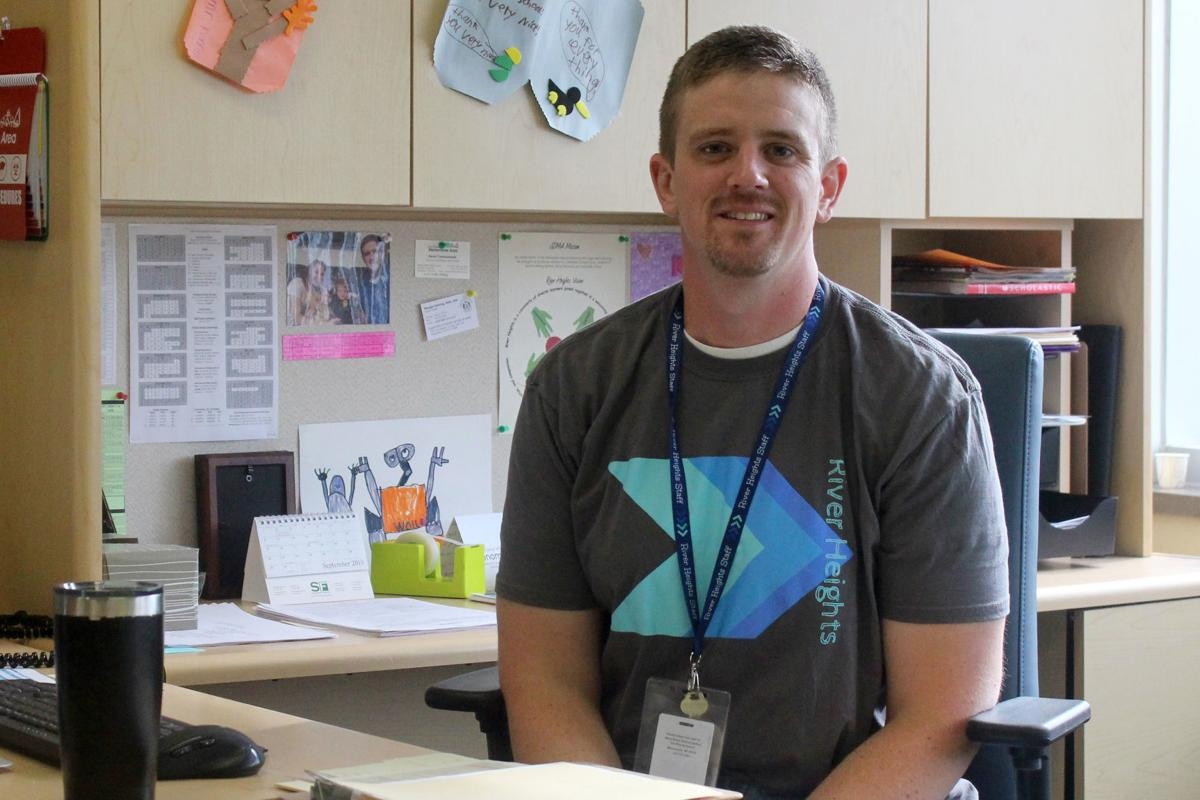 River Heights Elementary principal Mike Kennedy