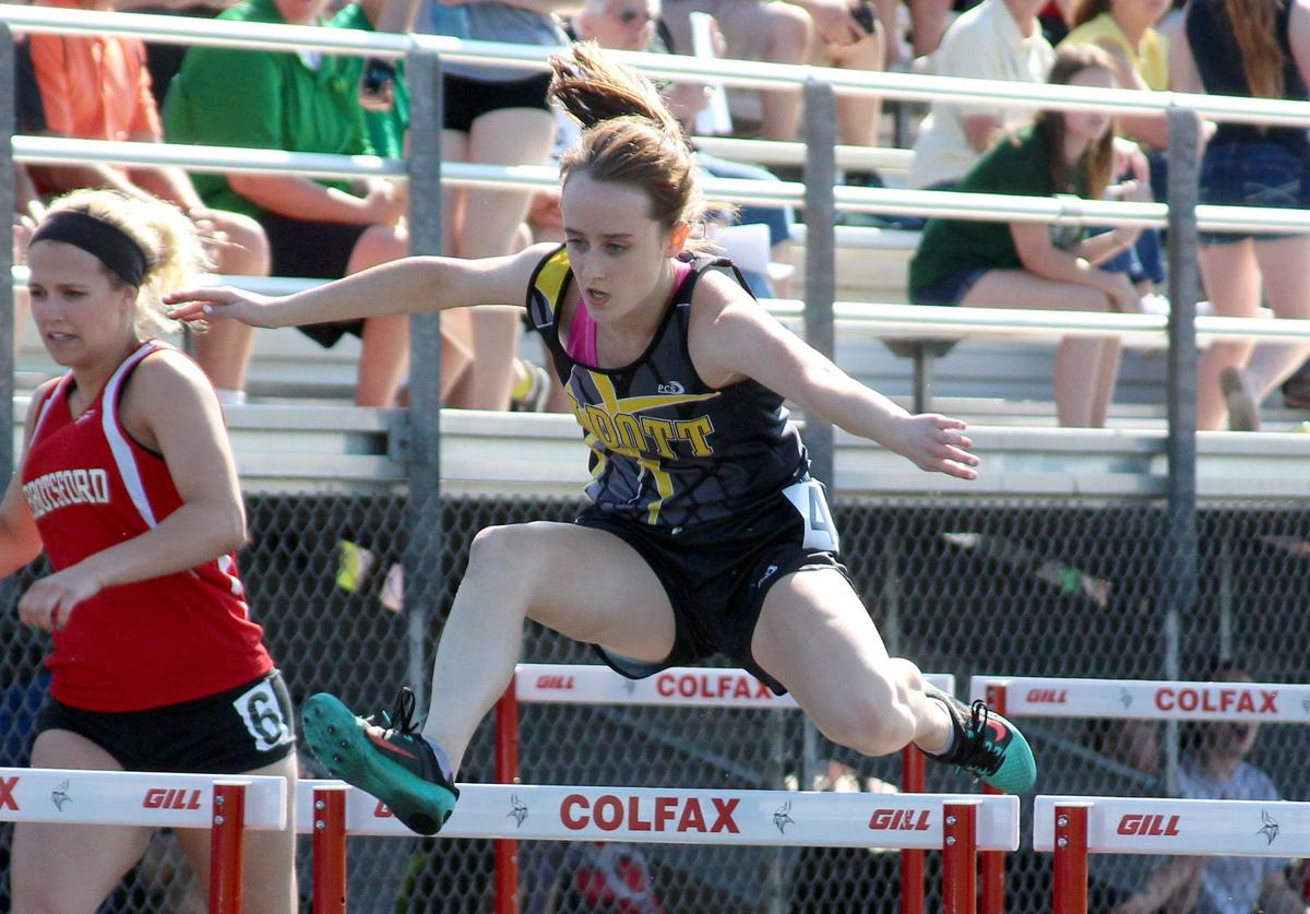 WIAA Division 3 Track and Field Sectionals at Colfax 5-26-16