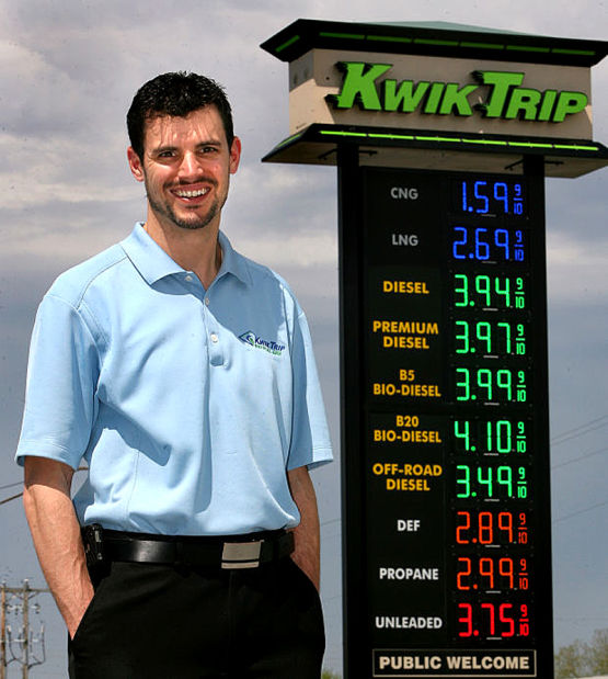 Kwik Trip a big believer in CNG | Business Report | chippewa com