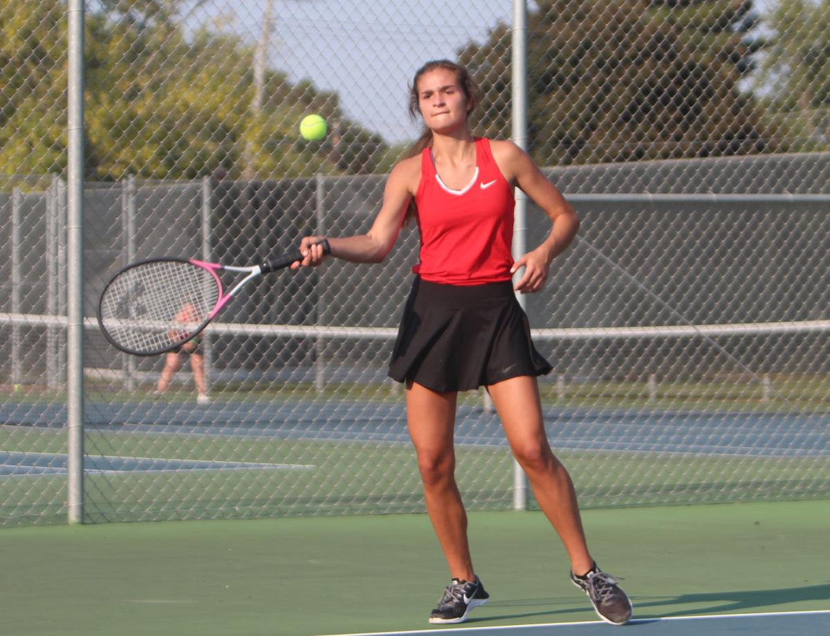 River Falls at Chi-Hi girls tennis 9-12-17