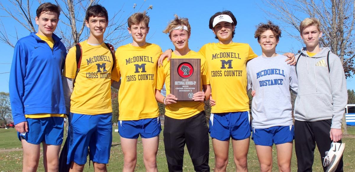 McDonell cross country state