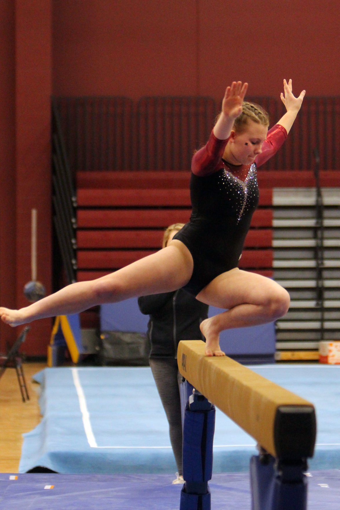 Big Rivers Conference Gymnastics Triangular at Menomonie 1-23-20