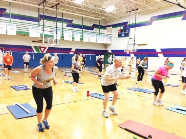 Chippewa Valley YMCA Workout Class