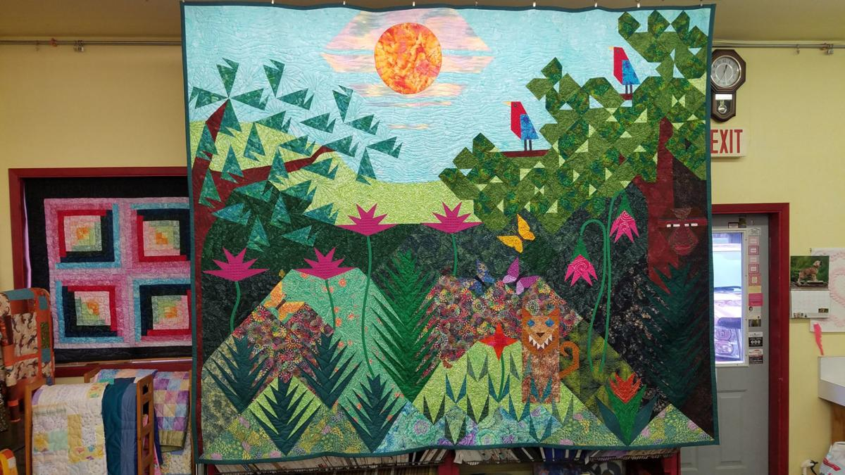 Jungle Dreams quilt