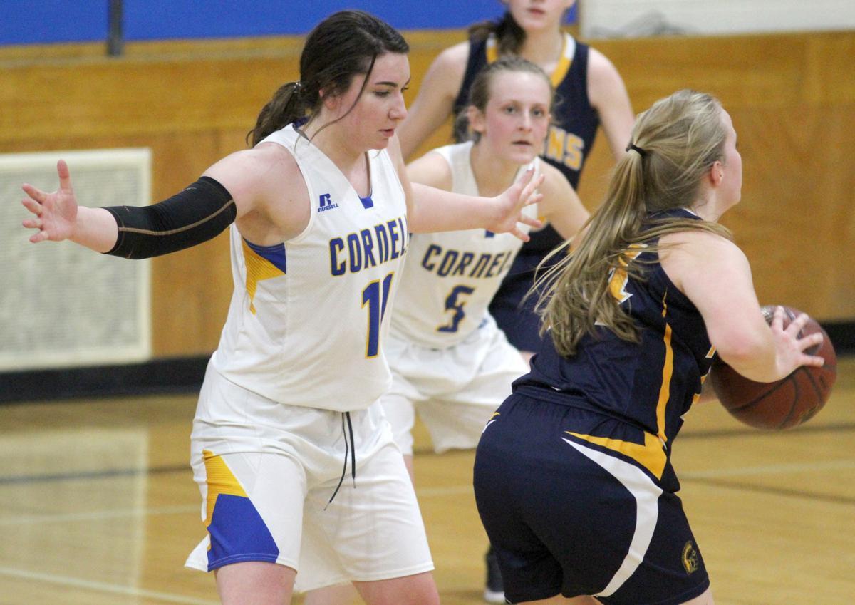 New Auburn at Cornell girls basketball 1-28-20