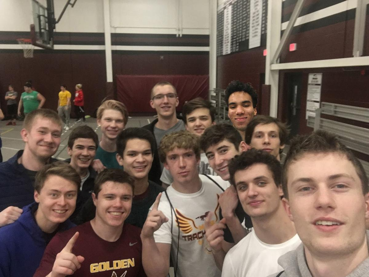 Menomonie boys track and field returning letterwinners