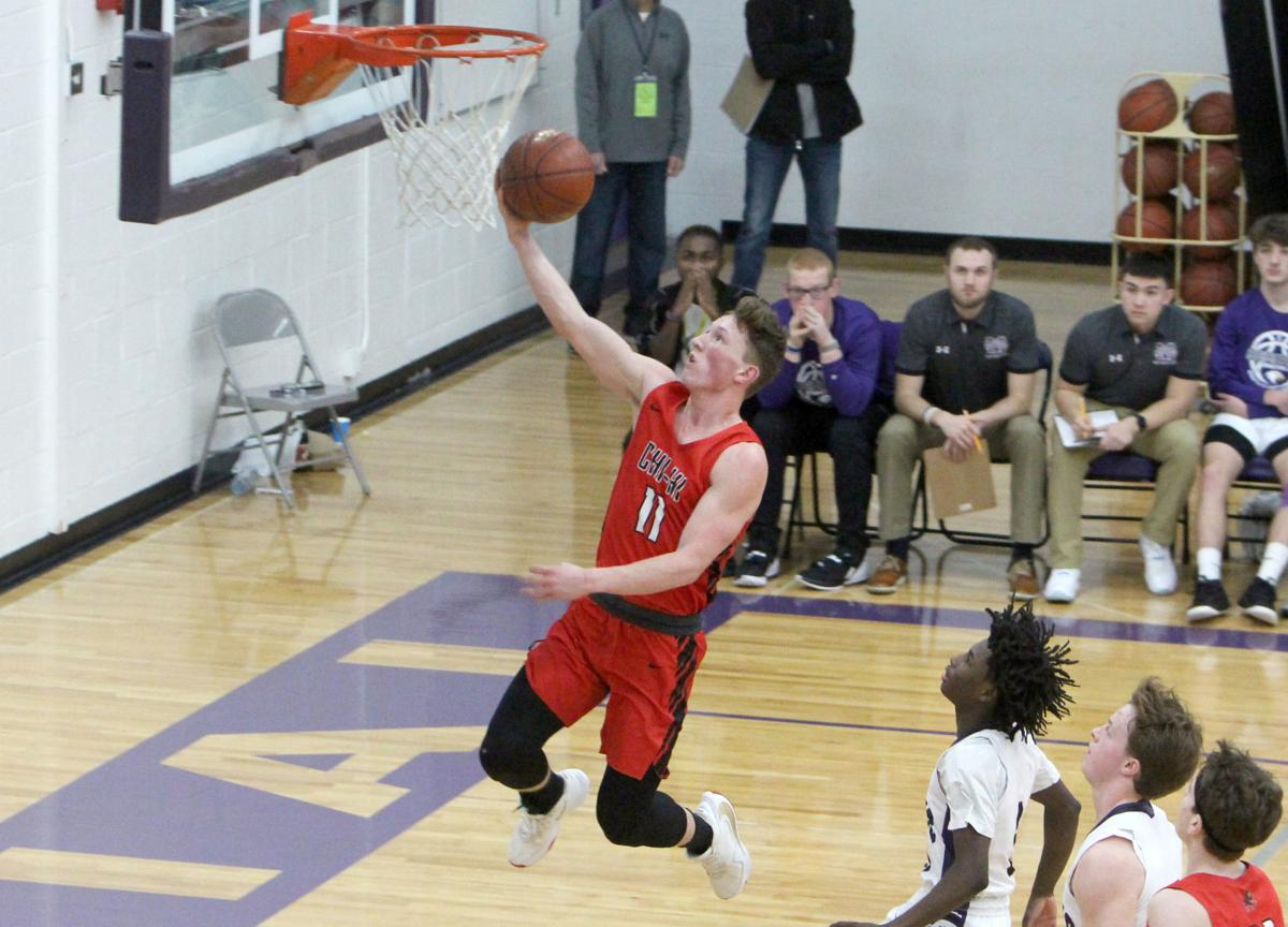 Chi-Hi boys basketball at Eau Claire Memorial 1-3-20