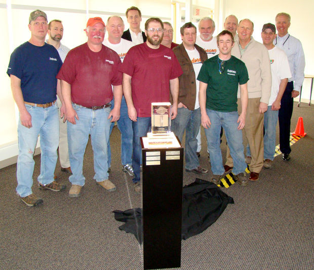 Andersen Windows Menomonie Plant Wins Safety Award