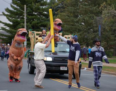 T-Rex spotted in downtown Menomonie