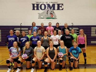 Boyceville High School 2018 volleyball team.