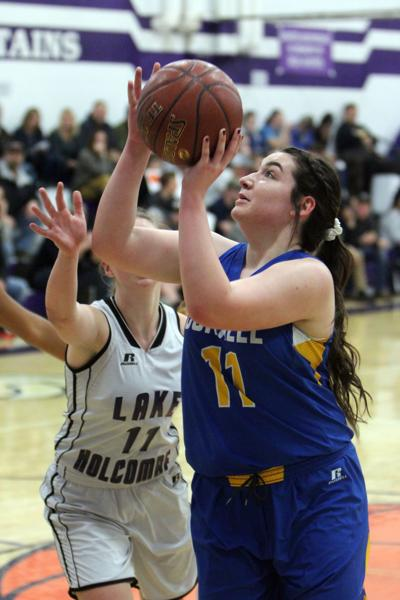 Cornell at Lake Holcombe girls basketball 12-4-18