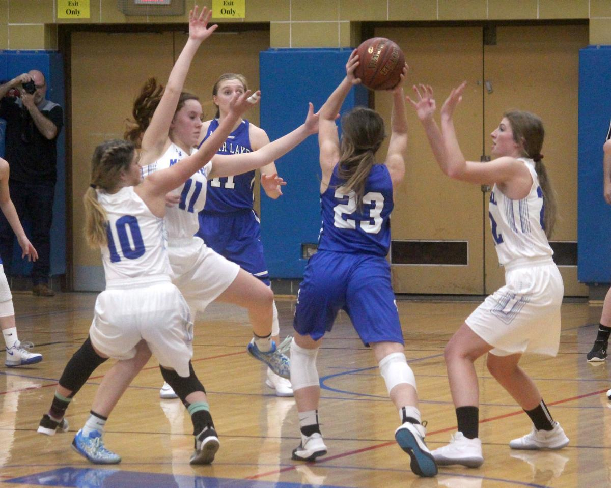 Clear Lake at McDonell girls basketball 12-22-17