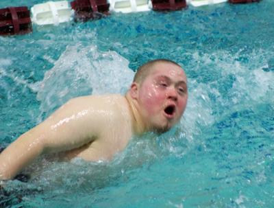 River Falls at Menomonie boys swimming 1-24-19