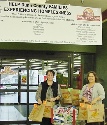 Lammers, West CAP team up for homeless families