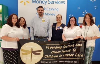 Walmart presents grant to Wisconsin Foster Closet