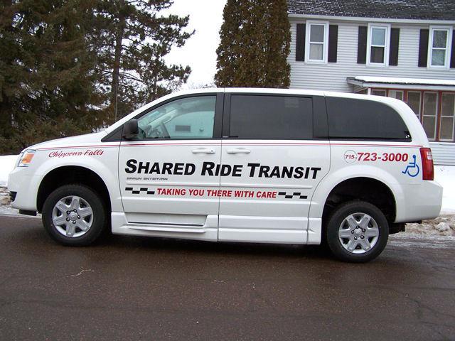 Shared Ride Transit ride