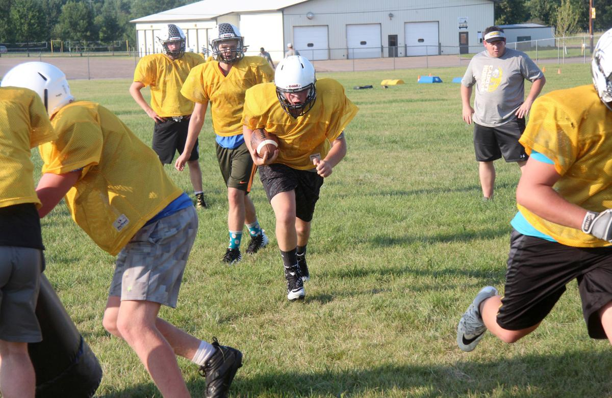 Cadott Football Practice 8-6-18