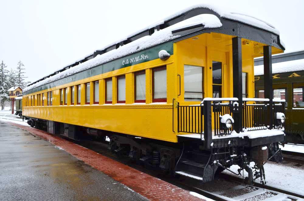 Ride the snow train