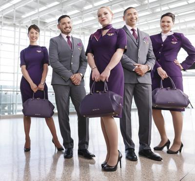 efc46ad951414 Delta uniform purchase sends Lands' End stock soaring | Business ...