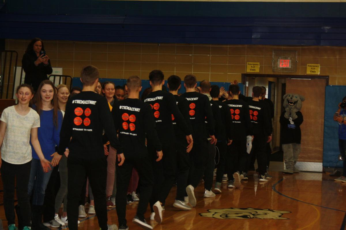 McDonell Pep Assembly Sendoff