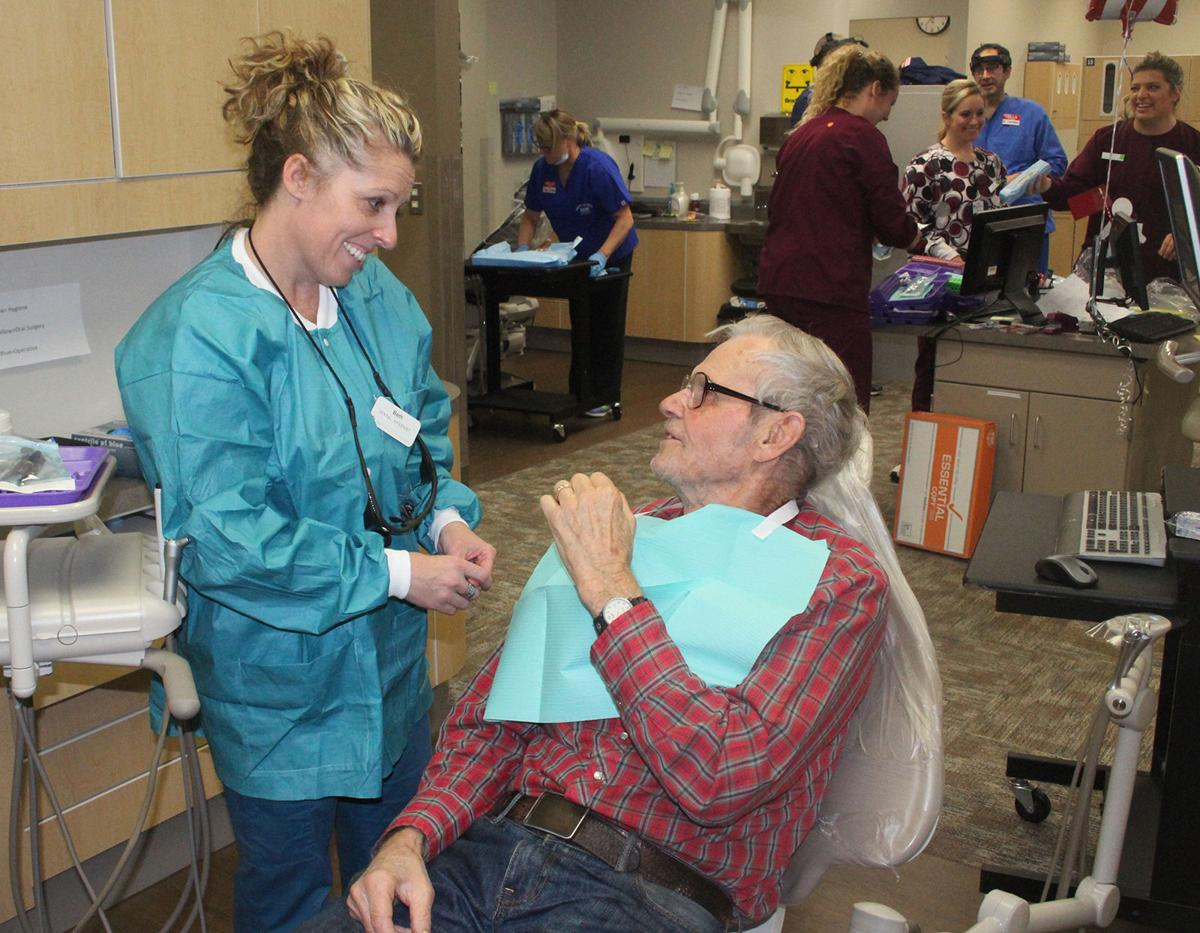 veterans find free dental care at cvtc clinic local