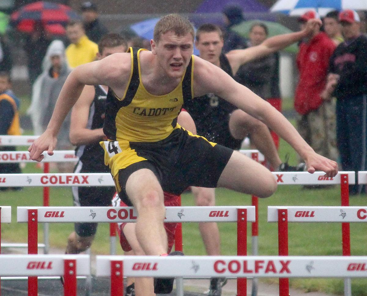 Division 3 track and field sectionals at Colfax 5-29-15