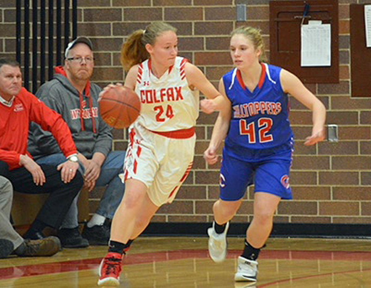 Glenwood City at Colfax girls basketball 2-1-19