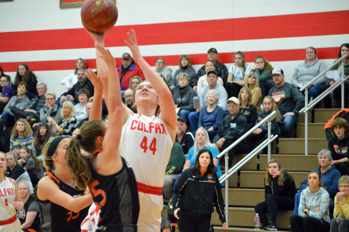 Bloomer at Colfax girls basketball 11-26-19