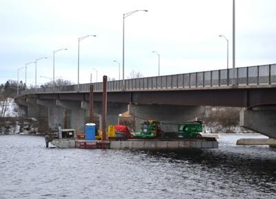 Highway 124 bridge