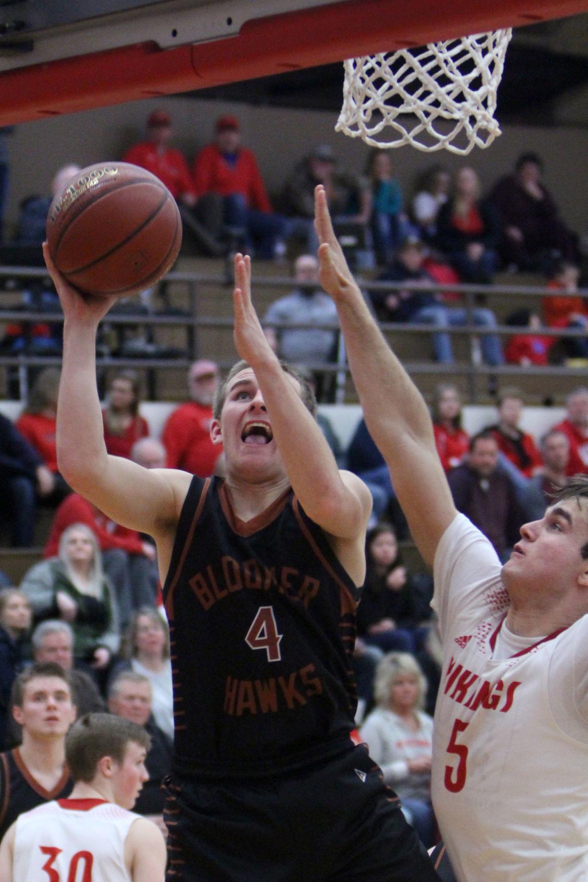 Bloomer at Colfax boys basketball 2-9-19