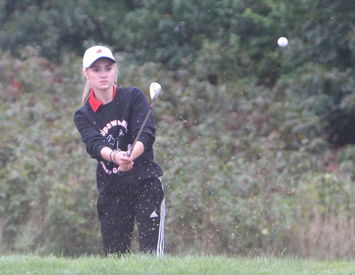 Chi-Hi girls golf at Big Rivers Conference meet 9-7-17