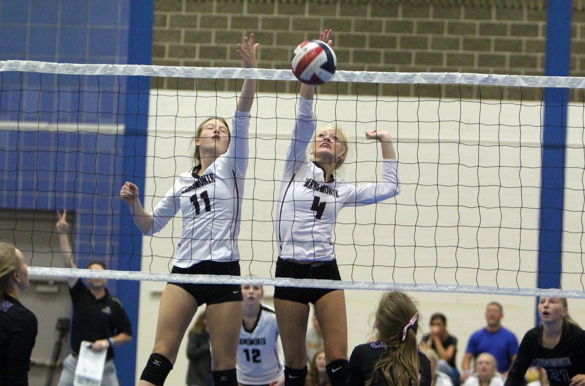 Prep volleyball sprawl at UW-Stout 8-31-19