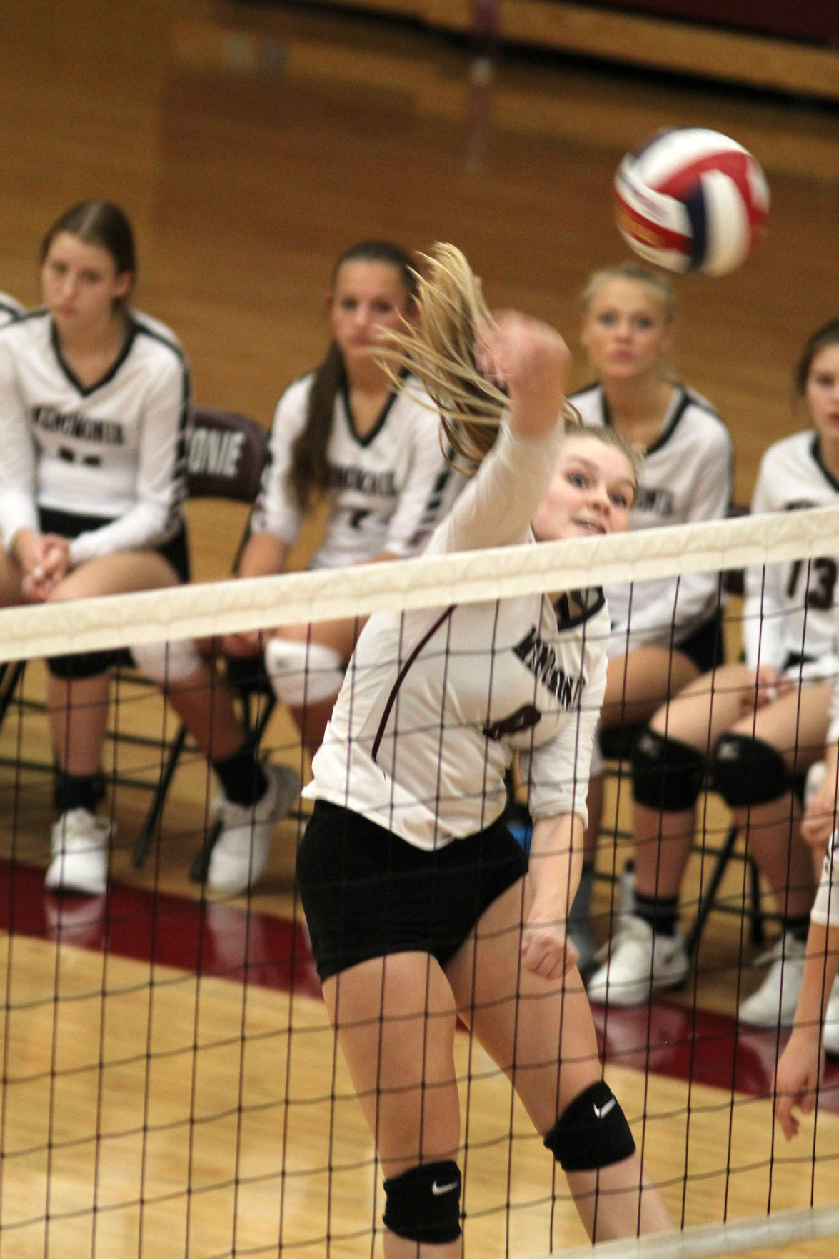 Medford at Menomonie volleyball 10-10-19