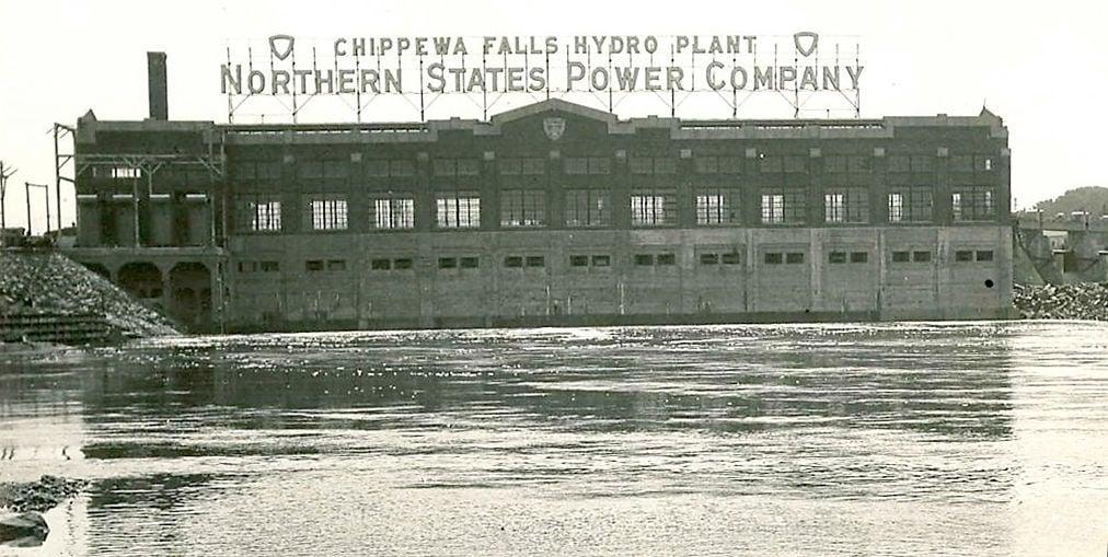Hydro plant in 1928