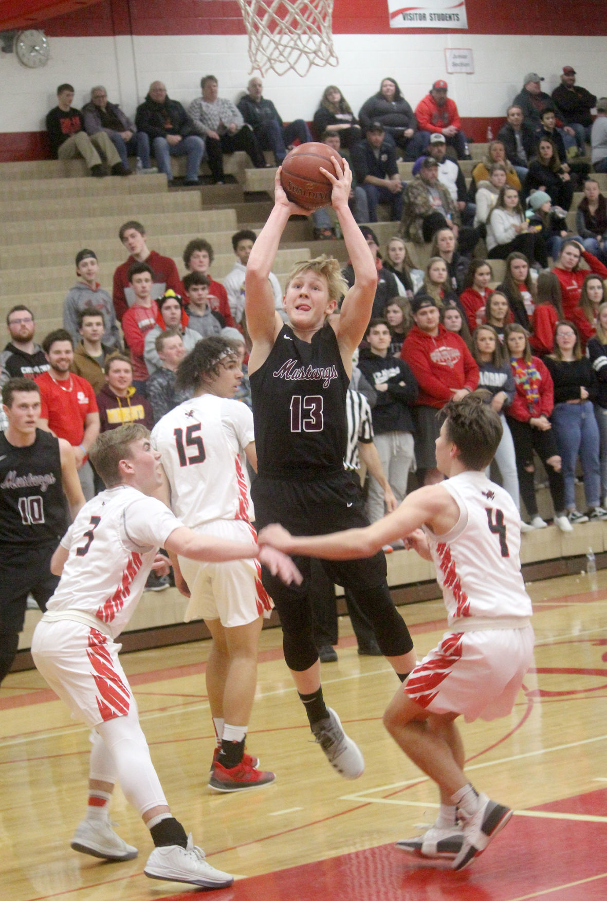 Menomonie at Chi-Hi boys basketball 2-18-19