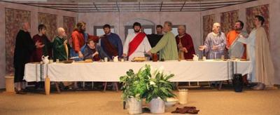 Living Last Supper in Wilson