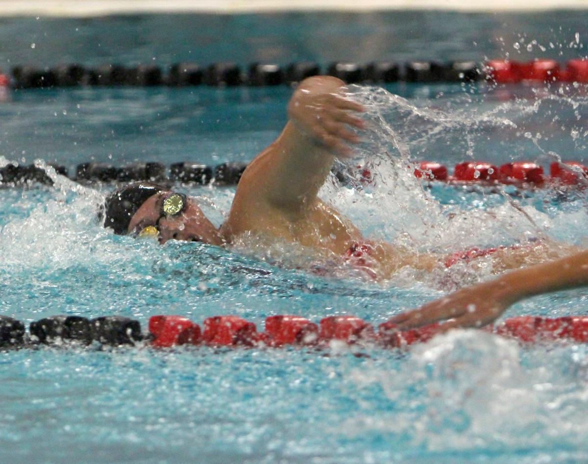Hudson at Chi-Hi girls swimming 9-10-19