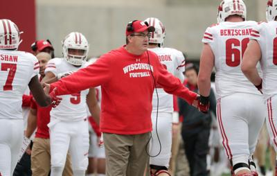 Paul Chryst on sidelines, State Journal generic file photo