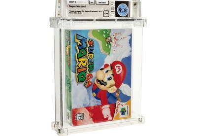 Super Mario 64 Auction