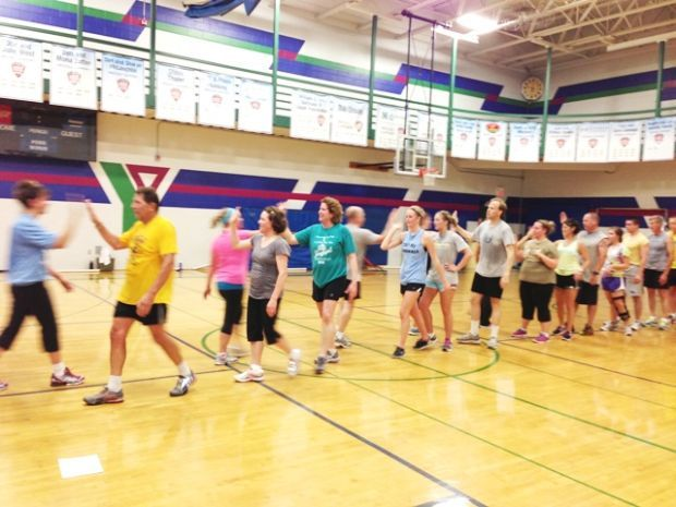 Chippewa Valley YMCA Exercise Class
