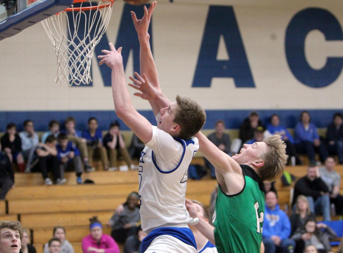 Eau Claire Regis at McDonell boys basketball 2-13-19