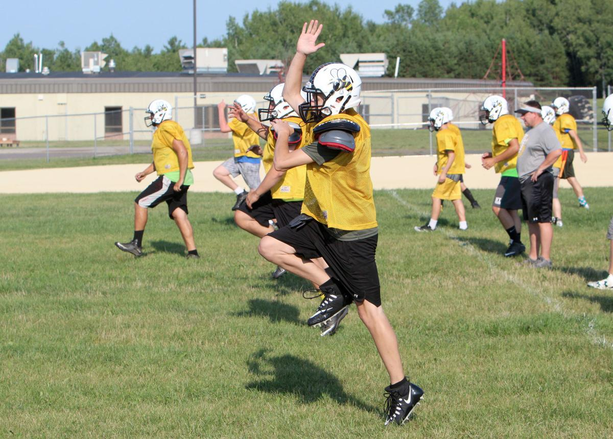 Cadott Football Practice 8-6-18