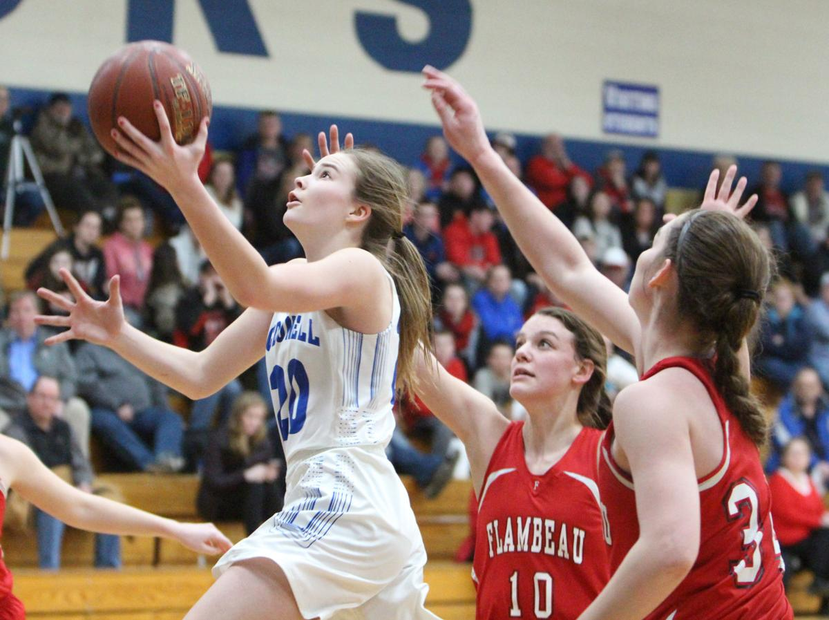 Flambeau at McDonell girls basketball 2-12-18