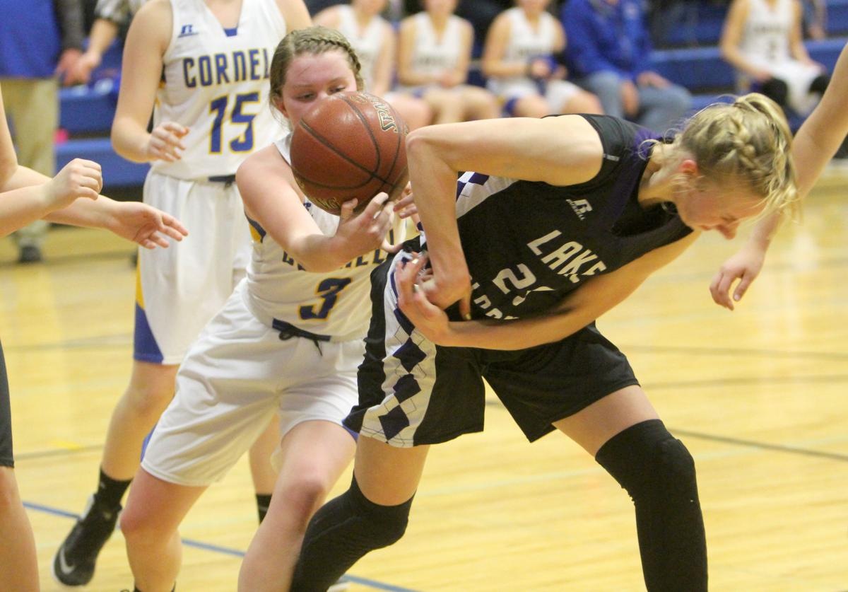 Lake Holcombe at Cornell girls basketball 1-10-19