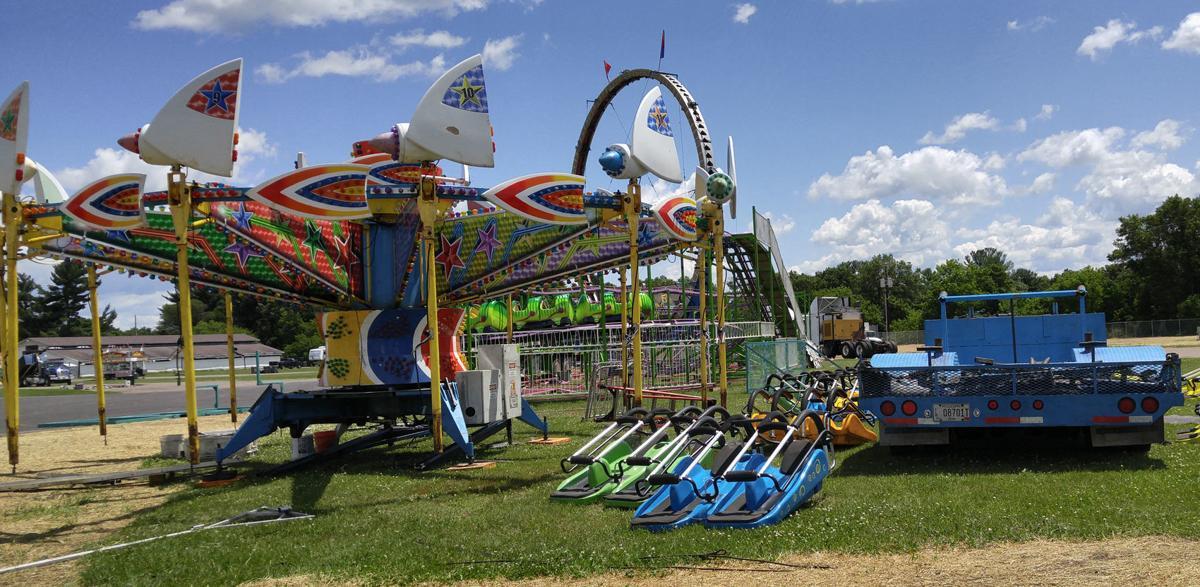 Rides at the fair