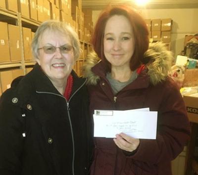 Foster closet donation