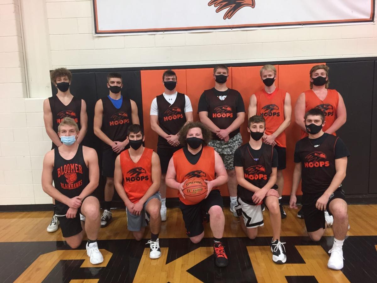 2020-21 Bloomer Boys Basketball Team
