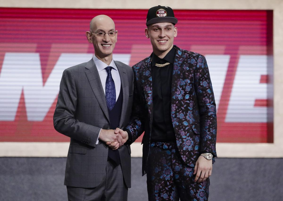 0d4f524c02227e Once nearly a Badger, Tyler Herro picked 13th overall in NBA draft ...